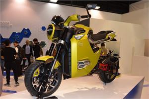 ਇਕ ਚਾਰਜ 'ਚ 100 ਕਿਲੋਮੀਟਰ ਦਾ ਸਫਰ ਤਹਿ ਕਰੇਗੀ Electric mini bike