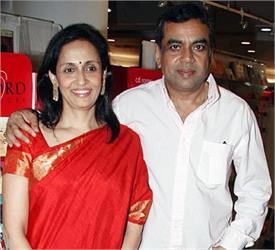 swaroop sampat afraid to work in films with his husband paresh rawal