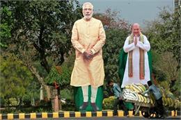 ਆਫ ਦਿ ਰਿਕਾਰਡ: ਗੁਜਰਾਤ 'ਚ ਭਾਜਪਾ ਦਾ ਜ਼ੋਰਦਾਰ ਪ੍ਰਚਾਰ