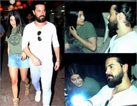 shruti haasan with boyfriend and other celebs