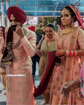 dilpreet dhillon marriage