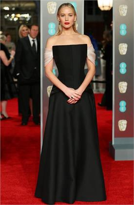 bafta 2018 jennifer lawrence