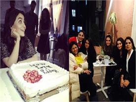 alia bhatt birthday pics