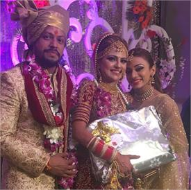 vividha kirti ties the knot with childhood friend varun