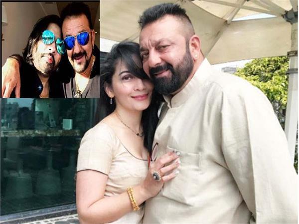 sanjay dutt and pandya mama