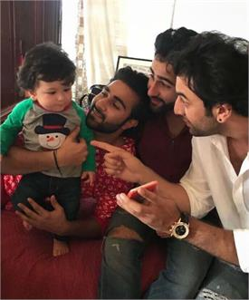 ranbir kapoor and taimur