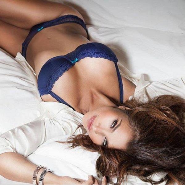 lisa rey looks hot on maxim cover