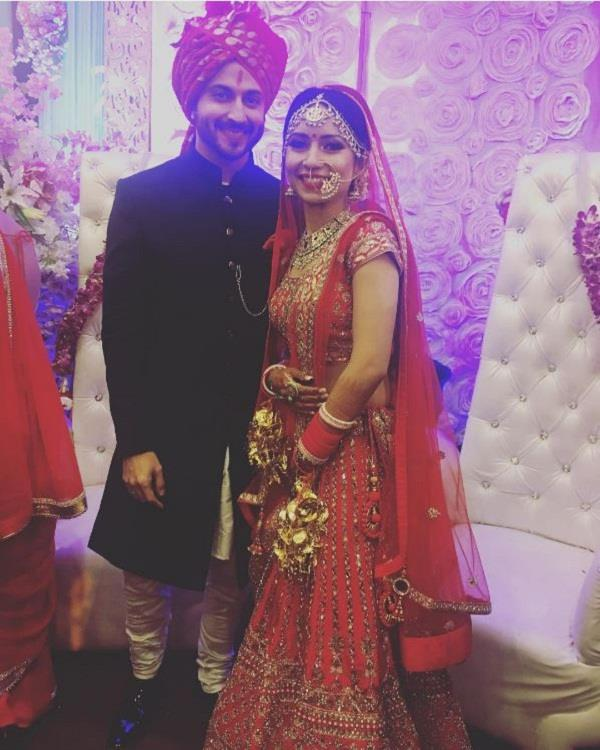 sasural simar ka  actor dheeraj dhoopar marriage with vinny arora
