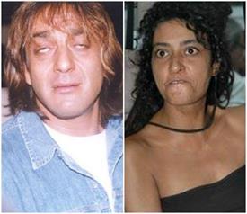 नशे की हालत में कई लोगों के साथ सोई थी यह मॉडल, जेल गए थे संजय दत्त, See pics