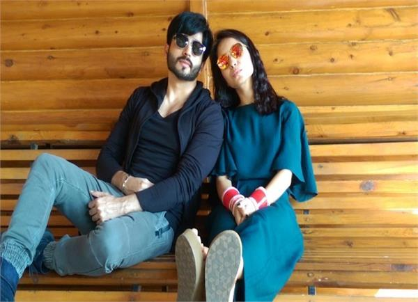 newly married tv couple chilling in aamby valley