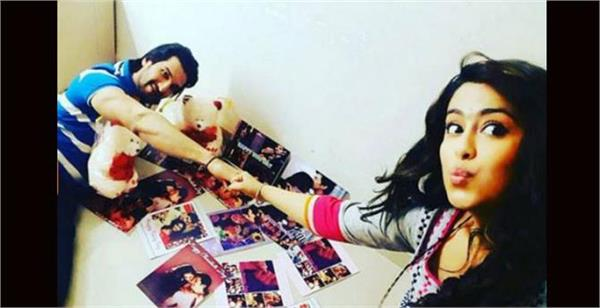avika gor love with her co star