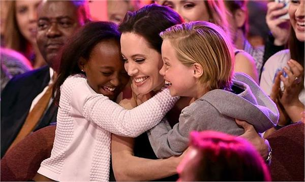 angelina jolie talks about kids wish
