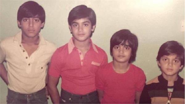 salman khan shares throwback picture with arbaaz alvira