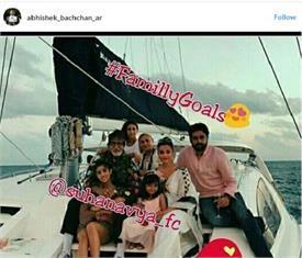 मालदीव में परिवार ने कुछ इस अंदाज में मनाया बिग बी का बर्थडे, सामने आई तस्वीरें