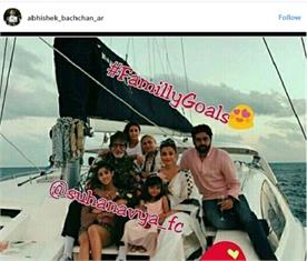 amitabh bachchan birthday at maldives