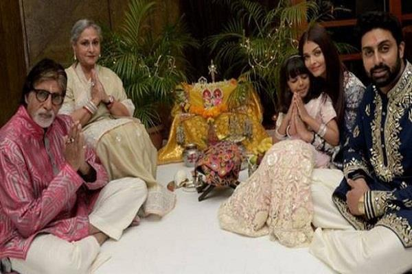 amitabh bachchan celebrates diwali share pictures