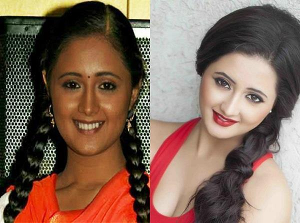 tv actress before after look pitures