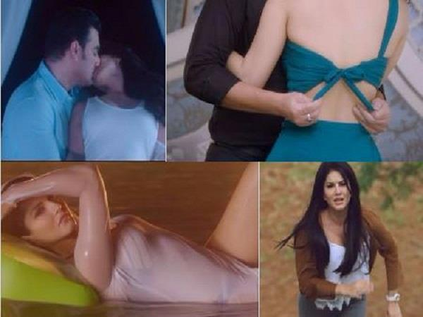 sunny leone and arbaz khan starer film tera inteazr teaser