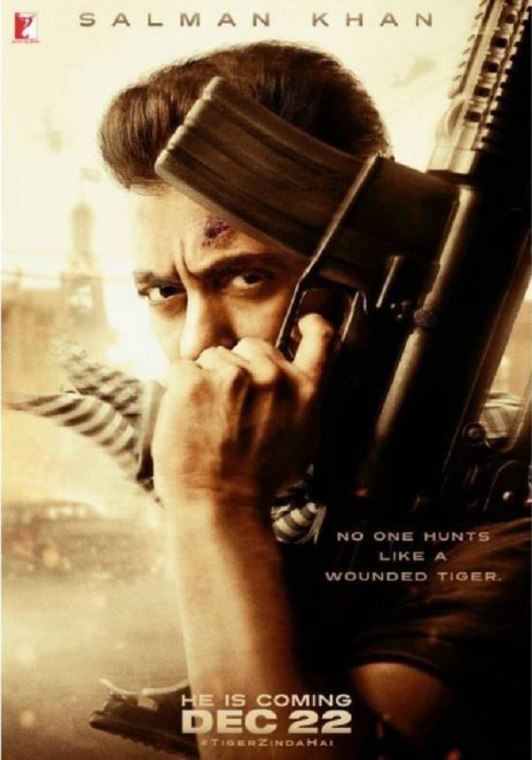 tiger zinda hai first look