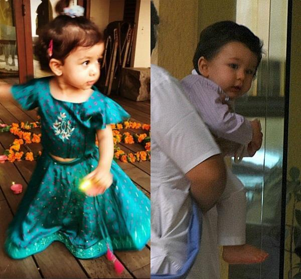 see pictures star kids celebrated their diwali