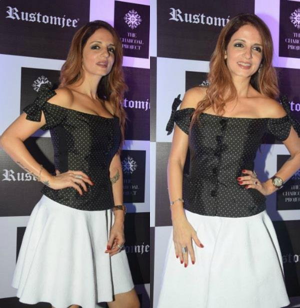 latest pictures of sussanne khan in bold look