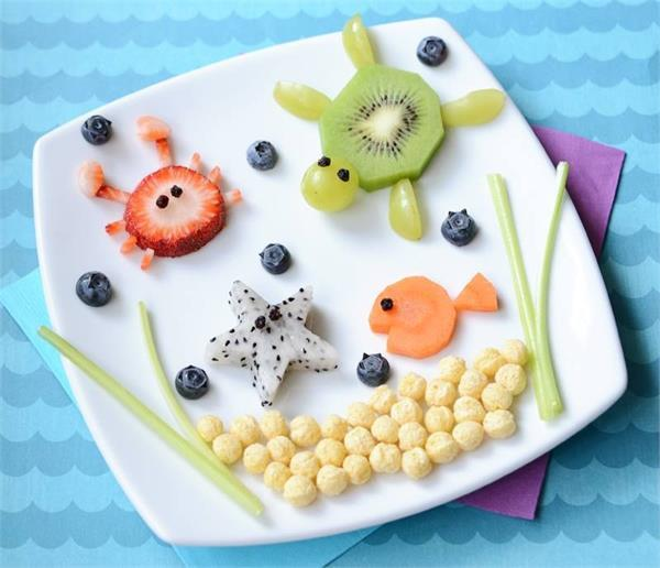 creative food designs for kids