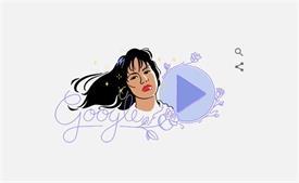 गूगल ने डूडल के जरिये गायिका सेलीना क्विंटेनिला को किया याद