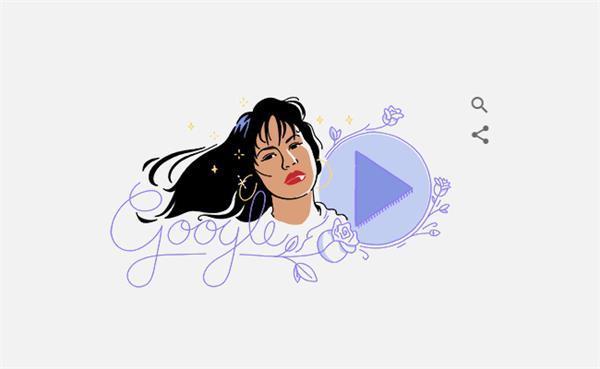 google doodle selena quintanill