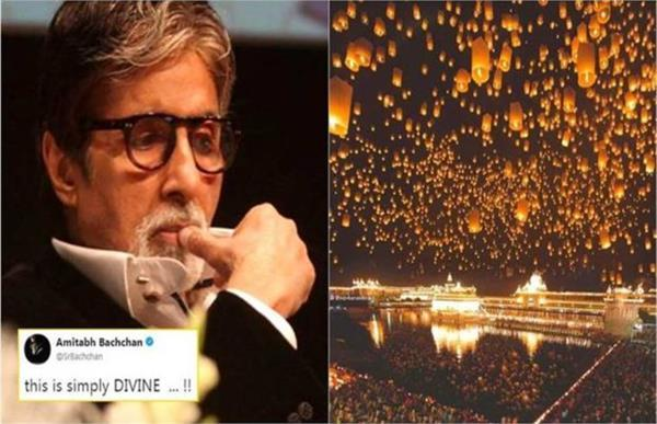 amitabh bachchan shared this viral golden temple photo but it is fake