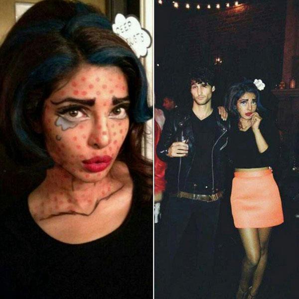 priyanka chopra halloween look