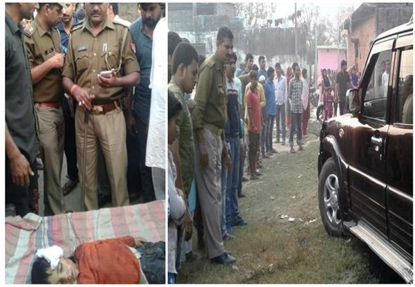 the 10 year old boy crushed badly by scarps car angry people did the ruckus