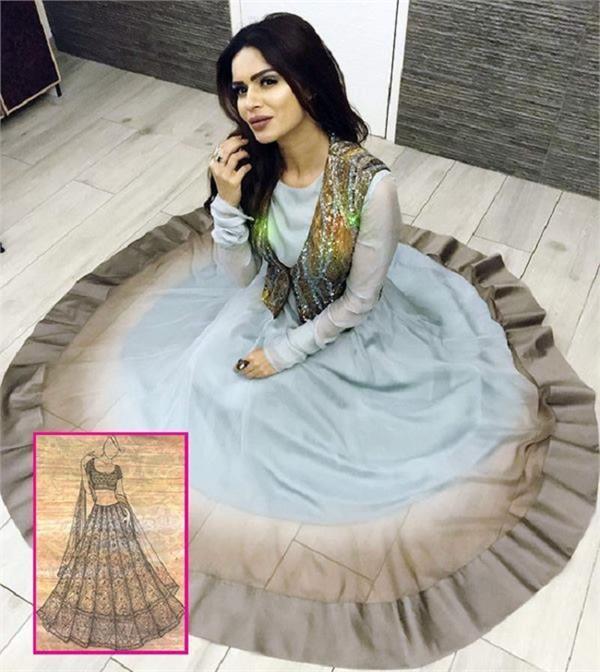 padmavati outfit designer will prepare this tv actress wedding lehenga