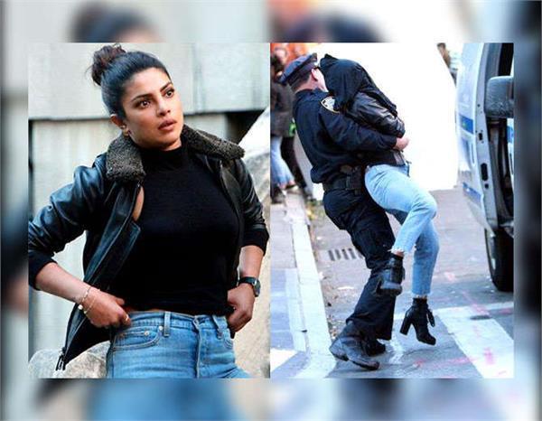 priyanka chopra shoots kidnapping sequence new york city