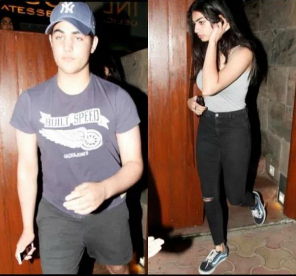 akshay kumar son aarav spotted on a dinner date with girl