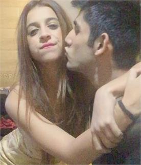 benafsha with boyfriend bigg boss