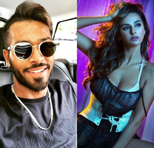 hardik pandya and shibani dandekar chat