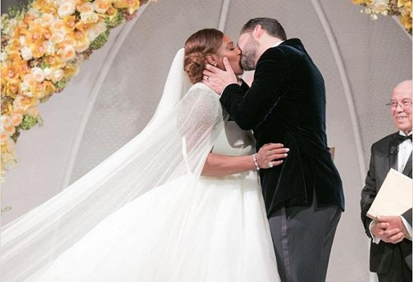 beautiful photos of serena wedding