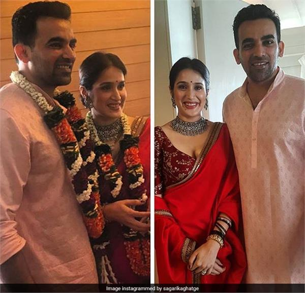 zaheer khan fioncee sagrika ghatge belongs to a royal family