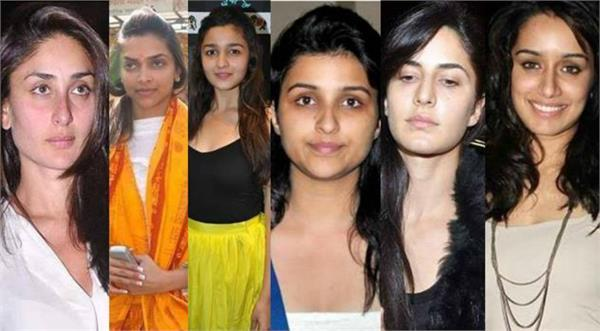 bollywood female playback actress without makeup