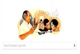 महोम्मद रफी के जन्मदिन पर गूगल ने स्पेशल डूडल से दी श्रद्धांजलि