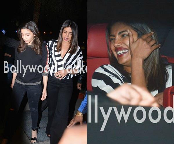 priyanka chopra and alia bhatt hangout lots of laughter