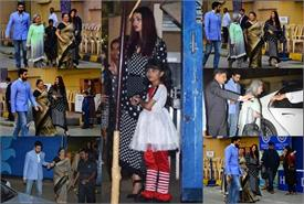 aishwarya abhishek and jaya bachchan attend aaradhya school event
