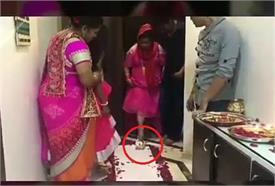 ससुराल में ऐसे हुआ भारती का Welcome, कलश गिराकर किया गृह प्रवेश