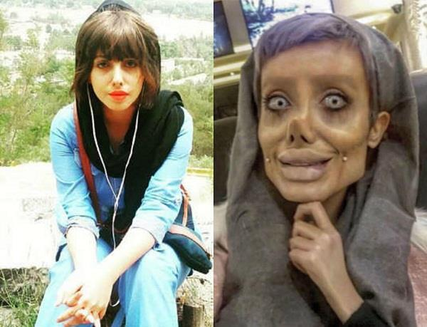 iranian girl hinted for dramatic makeover