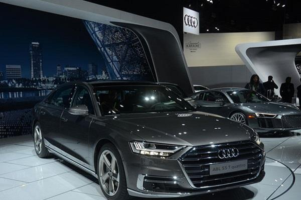 2017 los angeles auto show new generation audi a8 unveiled