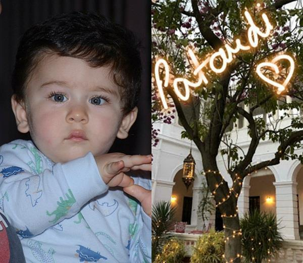 kareena son taimur first birthday celebrations begin at pataudi house