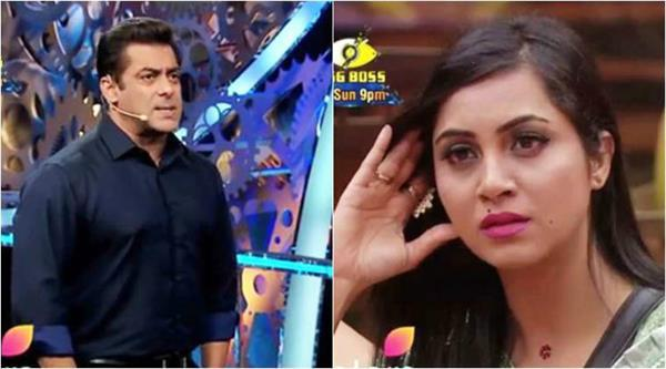 salman asked to arshi over shilpa captaincy in bigg boss 11