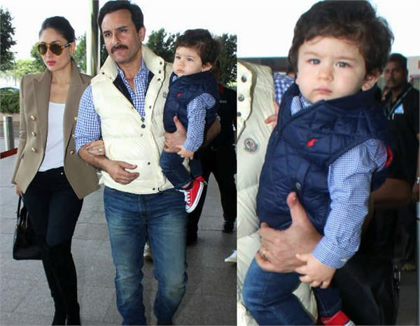 saif and kareena heads to pataudi palace for taimur first birthday celebrations