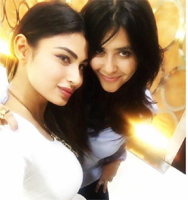 ekta kapoor and mouni roy join hands for a web series