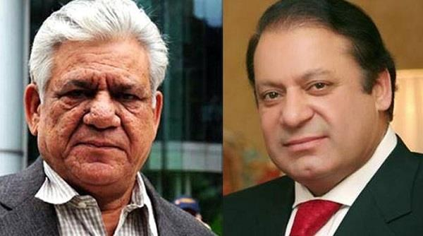nawaz sharif gave tribute to om puri